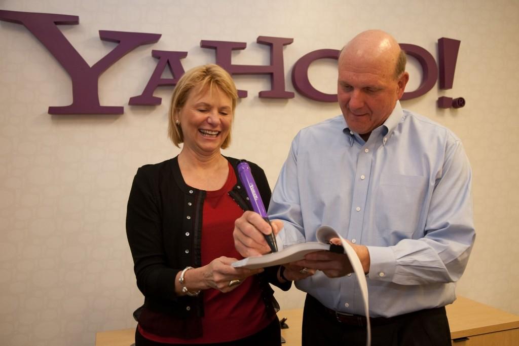 Partenariat Microsoft Yahoo