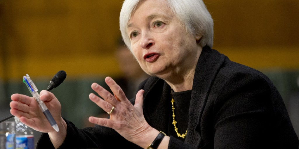 Janet yellen fed usa