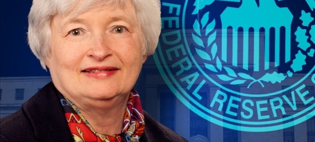 janet yellen réserve fédérale USA présidente