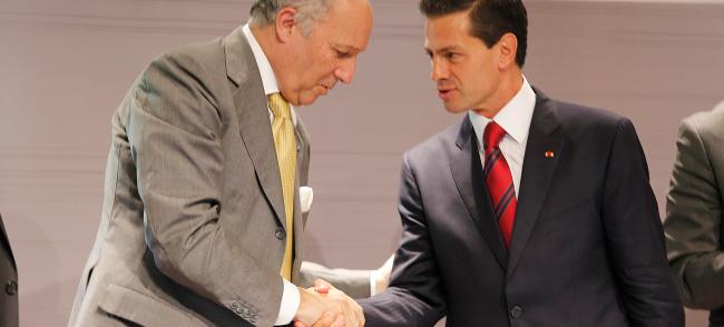 diplomatie économique france mexique