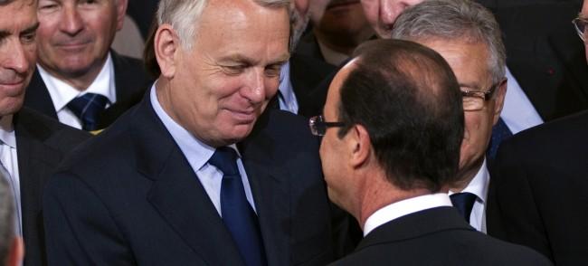 Jean Marc Ayrault et François Hollande