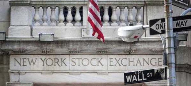 La bourse de New York, ou le