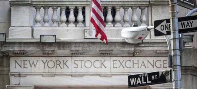 La bourse de New York, ou le