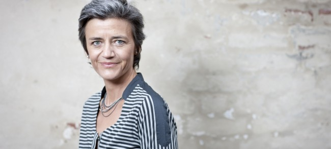 Margrethe Vestager commission europeenne