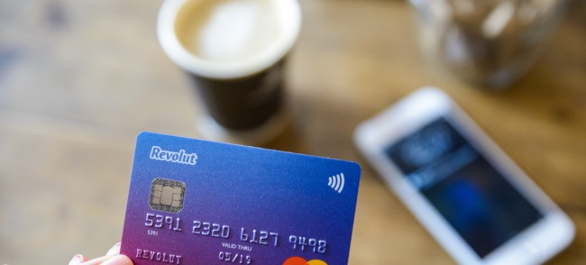 Revolut card and app